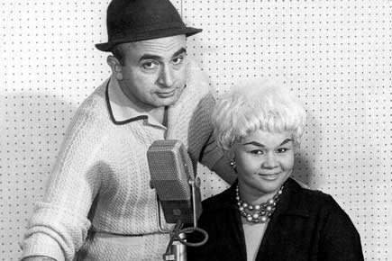 Phil Chess and Etta James